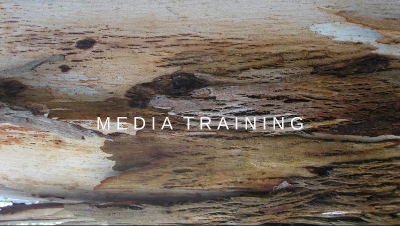 All about storytelling and media training